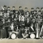 Don Bosco con la banda musicale - 1870